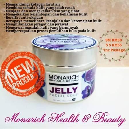 Monarich Jelly Facial Soap