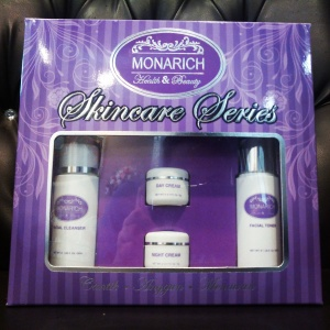 Monarich Skincare Series (Trial Set)