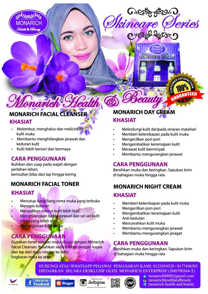 Monarich Skincare Series
